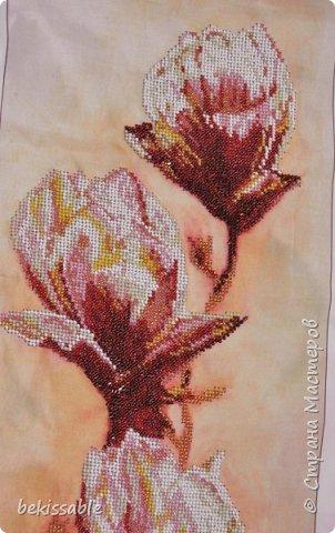 Картина, вышитая бисером фото 2