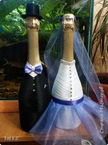 Этот свадебный набор делала совсем недавно ,попросили друзья придумать что-то в розовых тонах, вот что получилось)) фото 2