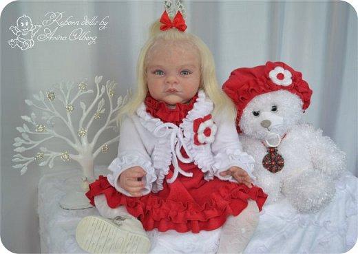"""Здравствуйте,девочки-мастерицы! Вот и """"родились"""" у меня новенькие куклята, братик и сестрёнка Тимофей и Таисия. Крупные детки, по 67 см, вес 2,5 кг. фото 21"""