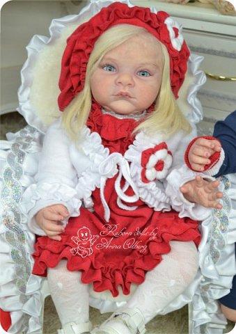 """Здравствуйте,девочки-мастерицы! Вот и """"родились"""" у меня новенькие куклята, братик и сестрёнка Тимофей и Таисия. Крупные детки, по 67 см, вес 2,5 кг. фото 30"""