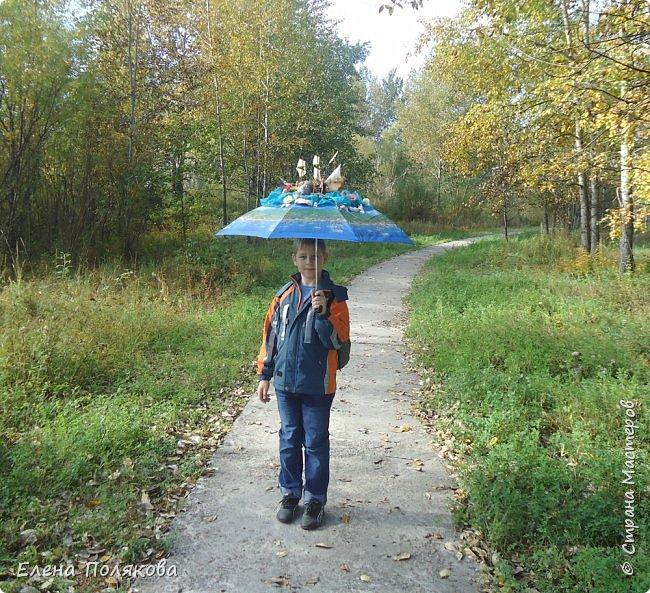 В начале сентября наш город праздновал 137-й день рождения! И в честь этого в городском парке объявили шоу зонтиков, мы же ну никак не могли обойти стороной это мероприятие :)) фото 8