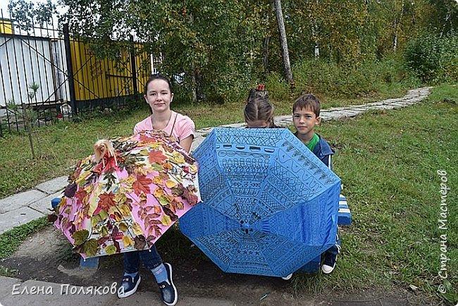 В начале сентября наш город праздновал 137-й день рождения! И в честь этого в городском парке объявили шоу зонтиков, мы же ну никак не могли обойти стороной это мероприятие :)) фото 17