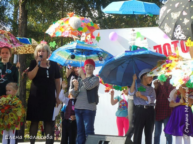 В начале сентября наш город праздновал 137-й день рождения! И в честь этого в городском парке объявили шоу зонтиков, мы же ну никак не могли обойти стороной это мероприятие :)) фото 10