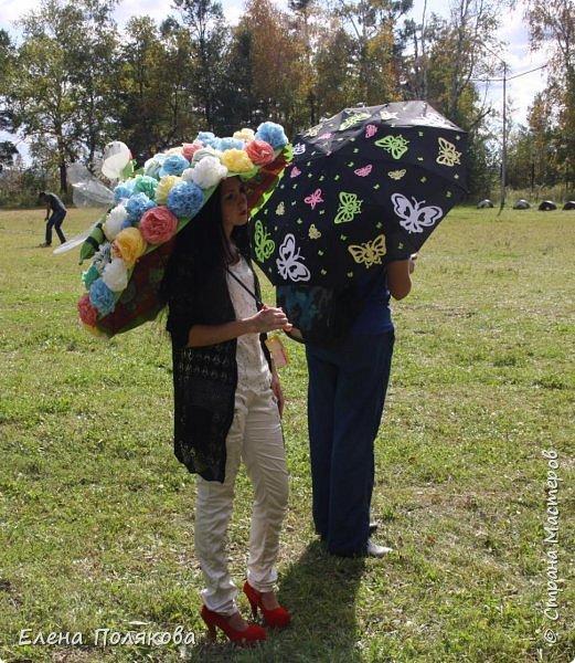 В начале сентября наш город праздновал 137-й день рождения! И в честь этого в городском парке объявили шоу зонтиков, мы же ну никак не могли обойти стороной это мероприятие :)) фото 14