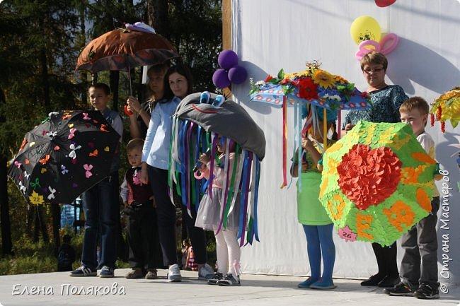 В начале сентября наш город праздновал 137-й день рождения! И в честь этого в городском парке объявили шоу зонтиков, мы же ну никак не могли обойти стороной это мероприятие :)) фото 16