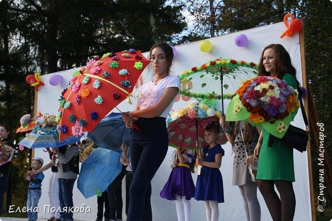 В начале сентября наш город праздновал 137-й день рождения! И в честь этого в городском парке объявили шоу зонтиков, мы же ну никак не могли обойти стороной это мероприятие :)) фото 13