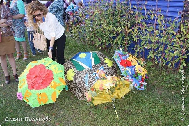 В начале сентября наш город праздновал 137-й день рождения! И в честь этого в городском парке объявили шоу зонтиков, мы же ну никак не могли обойти стороной это мероприятие :)) фото 12
