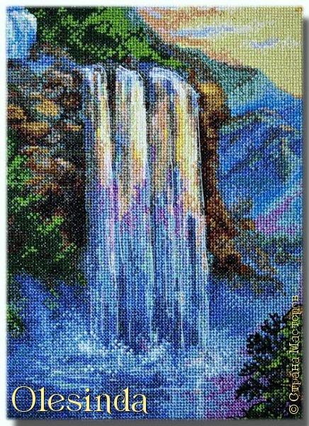 Приветствую всех любительниц вышивки крестом! Родилась у меня еще одна картина, вышитая из набора для вышивания фирмы «PANNA». Размер вышивки 28,5 х 33,5 см (179 х 211 крестиков). В работе использовалось 64 цвета. фото 2