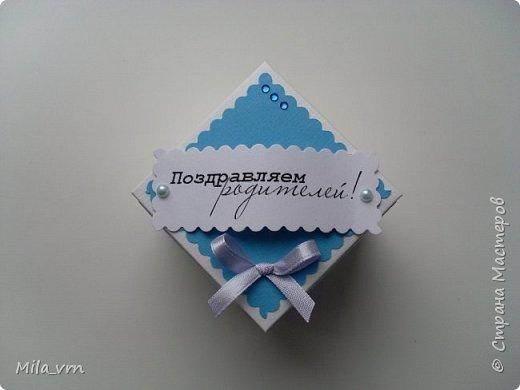 Когда очень хочется красиво подарить денюшку, получается что-то в этом роде...  фото 2
