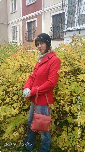 Связала я себе шляпку из пряжи бамбук от Ализе. фото 1