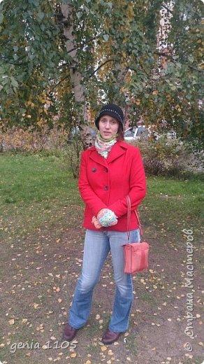 Связала я себе шляпку из пряжи бамбук от Ализе. фото 2