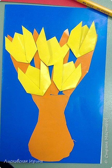 Детские работы оригами фото 1