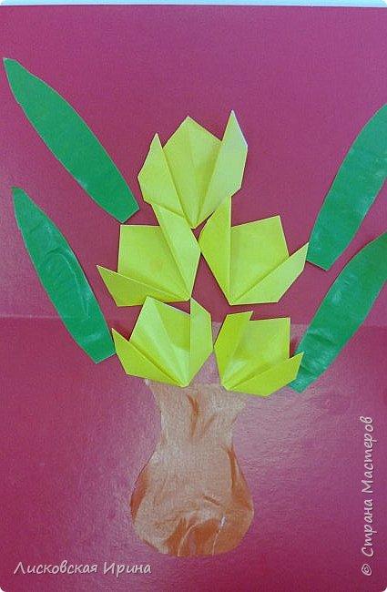 Детские работы оригами фото 2