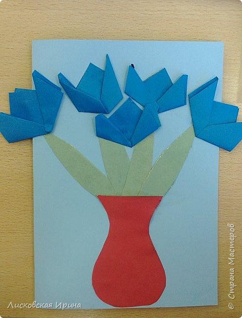 Детские работы оригами фото 3