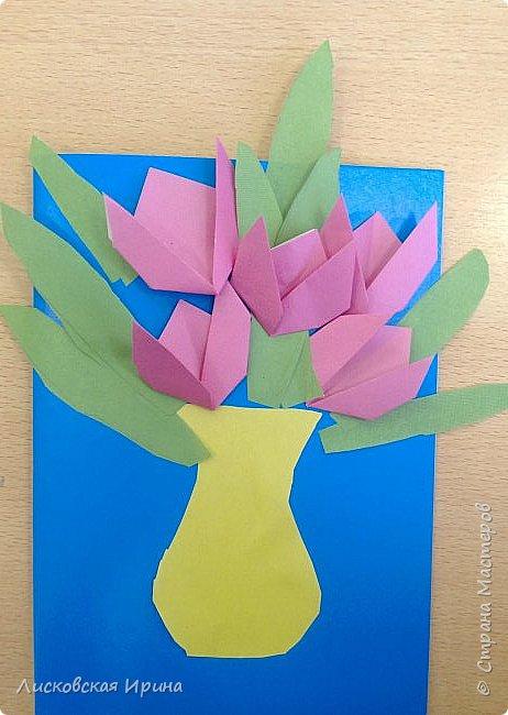 Детские работы оригами фото 4