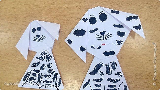 Детские работы оригами фото 8