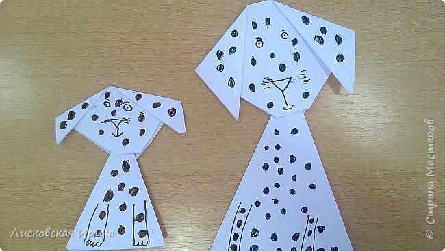 Детские работы оригами фото 7
