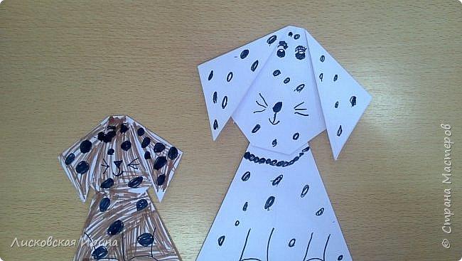 Детские работы оригами фото 6
