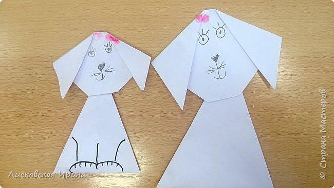 Детские работы оригами фото 5