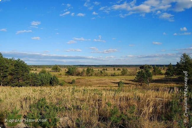 Добрый вечер! Посчастливилось неделю назад погулять на природе. Было достаточно тепло, солнышко ласково светило и календарная осень никак не ощущалась, да и настроение было летнее. Но приехав домой и рассматривая фотографии, я заметила, что все-таки осень берет свое... Воздух стал прозрачней, а небо кажется выше и дальше, чем летом. Глубокий, ярко-синий его цвет по-особенному отражается в воде. И хотя кроны деревьев еще не усыпаны золотом осени, кое-где проступает желтизна... фото 3