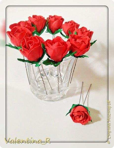Люблю цветы... но больше розы... Немного свободного времени и украшение для праздничной или повседневной прически готово.