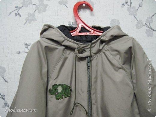 """Здравствуйте! За два не полных дня пришлось срочно сшить сыну вот такую  куртку.  Куртка трехслойная (плащевка, синтепон-подкладка и двухсторонний флис), молния трактор длиной 45 см. Специально была приклеена термоаппликация  из любимого мультфильма """"Тачки"""".  Выкройку взяла из журнала Бурда детская мода 2012 года (мод. 602, размер 116). Шьётся быстро.  фото 4"""