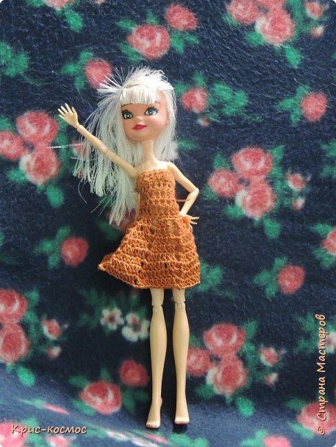 Привет, СМ! Сегодня я покажу вам новое платье для Севы. Его я связала ещё вчера, он просто рука не доходила. фото 1