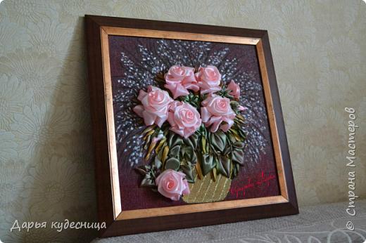 """Брошь """"Розовый бриз"""". фото 12"""