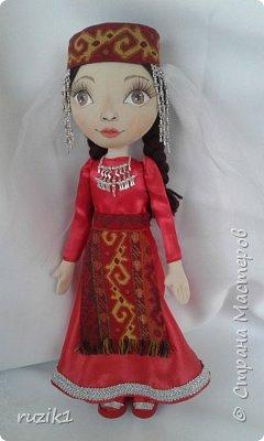 Кукла в национальном костюме фото 5