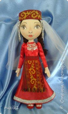 Кукла в национальном костюме фото 3