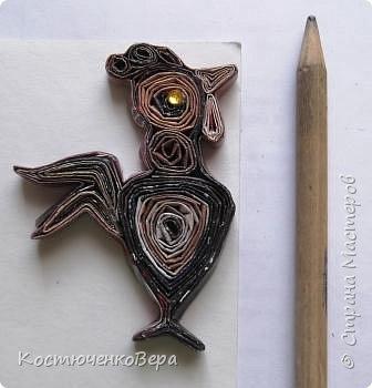 Давайте сделаем петушка! Он будет подарком к Новому году. Вдохновитель - Пустельга - славная мастерица http://stranamasterov.ru/node/96748 фото 29
