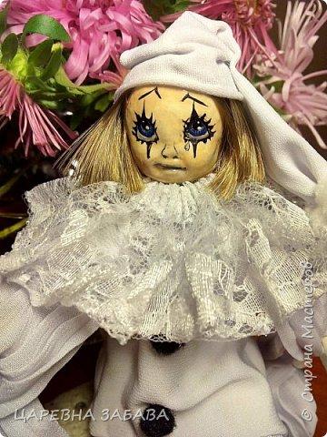 Здравстствуйте!!! вот решилась сделать куклу... не судите строго, это моя первая кукла,но уже ооочень любимая!!!)))) фото 1