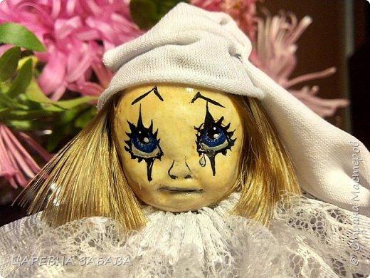 Здравстствуйте!!! вот решилась сделать куклу... не судите строго, это моя первая кукла,но уже ооочень любимая!!!)))) фото 4