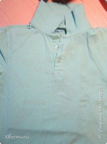 Дорогие мамочки, этот пост для вас! Если любимая футболка вашего ребятёнка испорчена пятнышками, которые не отстирываются (бывает и такое!), то не стоит от неё отказываться. фото 2