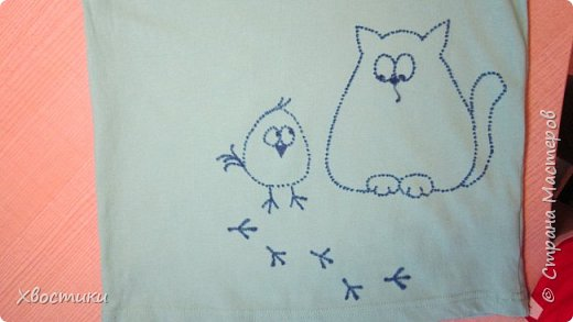 Дорогие мамочки, этот пост для вас! Если любимая футболка вашего ребятёнка испорчена пятнышками, которые не отстирываются (бывает и такое!), то не стоит от неё отказываться. фото 5