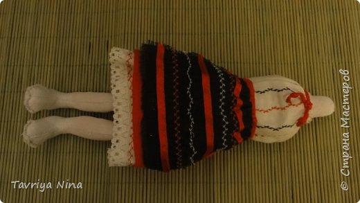 Для этой куклы я сделала два варианта головы,т.к. первый не соответствовал ей по размерам туловища.  фото 2