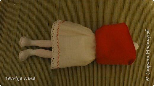Для этой куклы я сделала два варианта головы,т.к. первый не соответствовал ей по размерам туловища.  фото 5