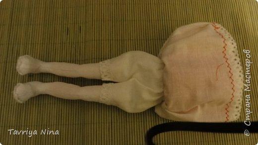 Для этой куклы я сделала два варианта головы,т.к. первый не соответствовал ей по размерам туловища.  фото 6