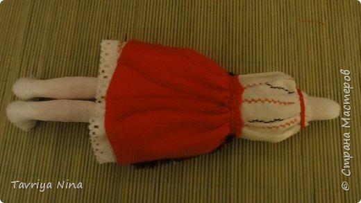 Для этой куклы я сделала два варианта головы,т.к. первый не соответствовал ей по размерам туловища.  фото 7