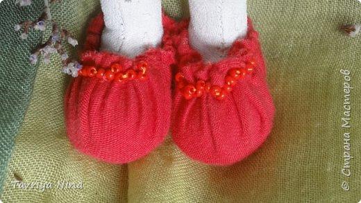Для этой куклы я сделала два варианта головы,т.к. первый не соответствовал ей по размерам туловища.  фото 4