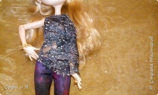 """Приветик всем!!!23 сентября была днюха,и подарили мне эту красавицу Эшлин Эллу!! Давно ее хотела.Сшилась ей кофточка """"модная""""))) фото 2"""