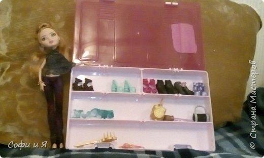 """Приветик всем!!!23 сентября была днюха,и подарили мне эту красавицу Эшлин Эллу!! Давно ее хотела.Сшилась ей кофточка """"модная""""))) фото 4"""