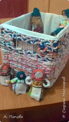 У тряпичных куколок появился свой дом. Всем хватит места! фото 1