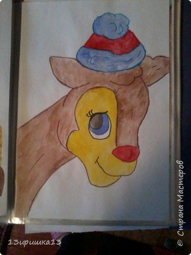 Решила показать свои старые рисунки которые рисовала лет 5 назад фото 1