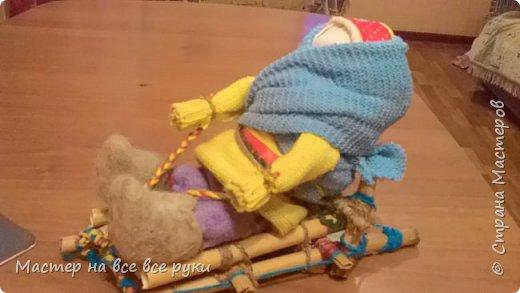 Валенки для куклы фото 4