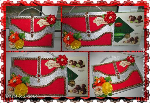 Подарки из конфет фото 2
