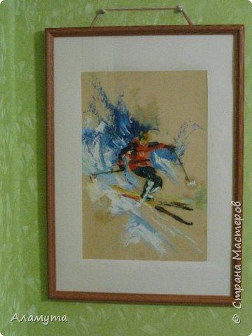 """Рисунок в блокноте"""" Муза для Осени"""" фото 5"""