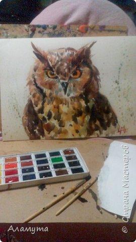 """Рисунок в блокноте"""" Муза для Осени"""" фото 11"""