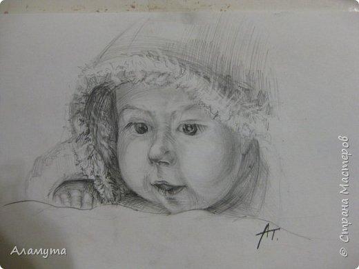 """Рисунок в блокноте"""" Муза для Осени"""" фото 12"""