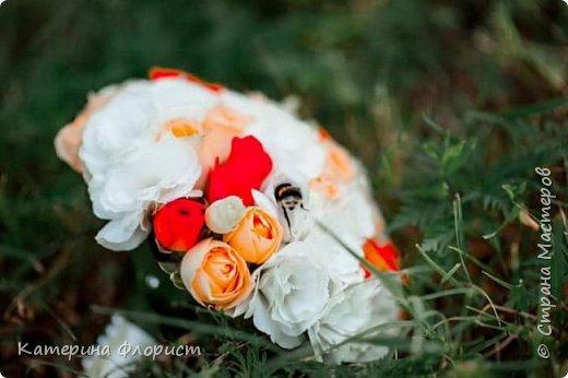 Свадебные букеты (мои работы) фото 10
